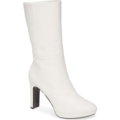 Calvin Klein Pebbles Boot- White