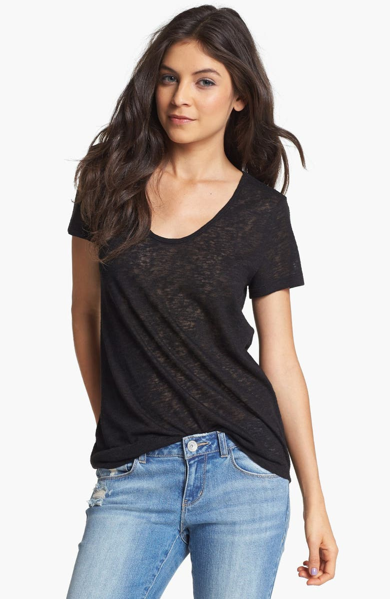 RUBBISH<SUP>®</SUP> Short Sleeve Textured Tee, Main, color, 001