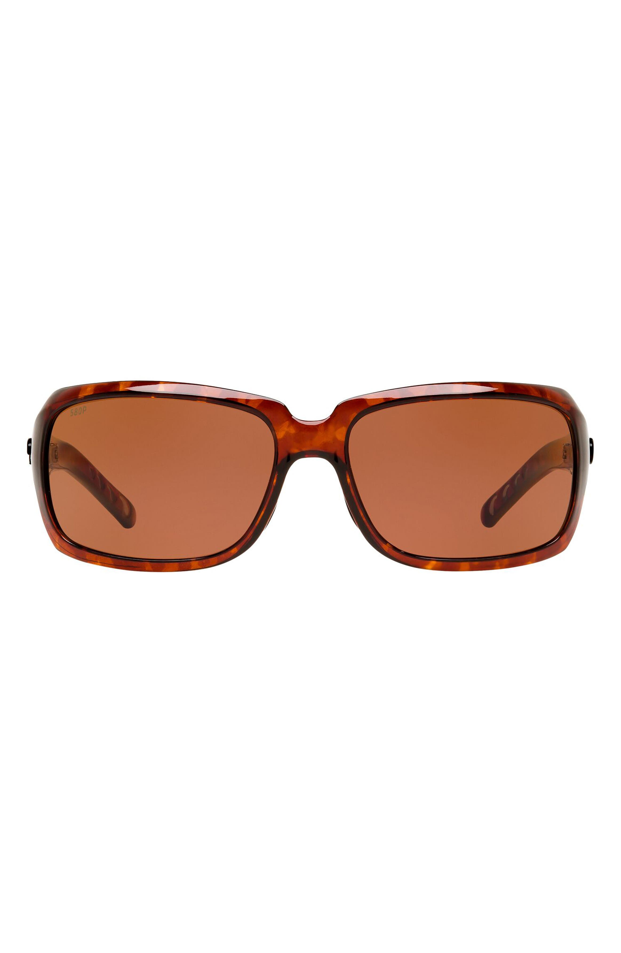 64mm Polarized Sunglasses
