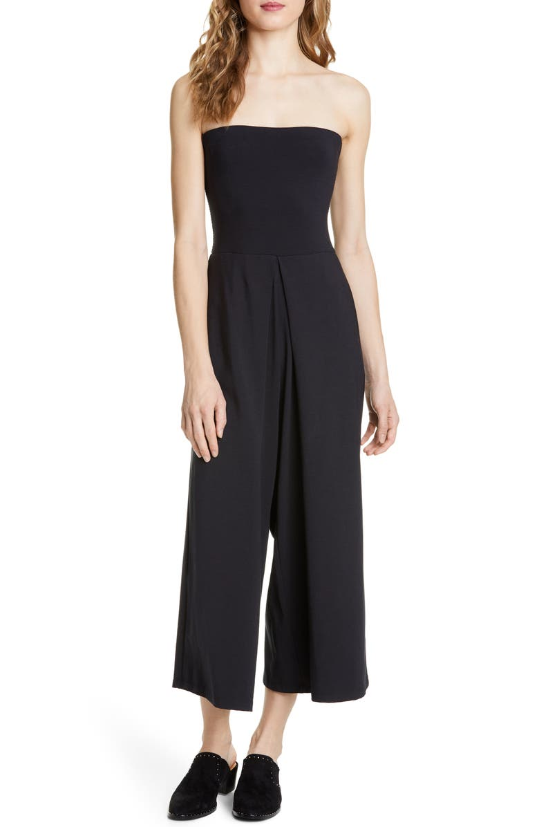 JOIE Marischal Strapless Jumpsuit, Main, color, 001