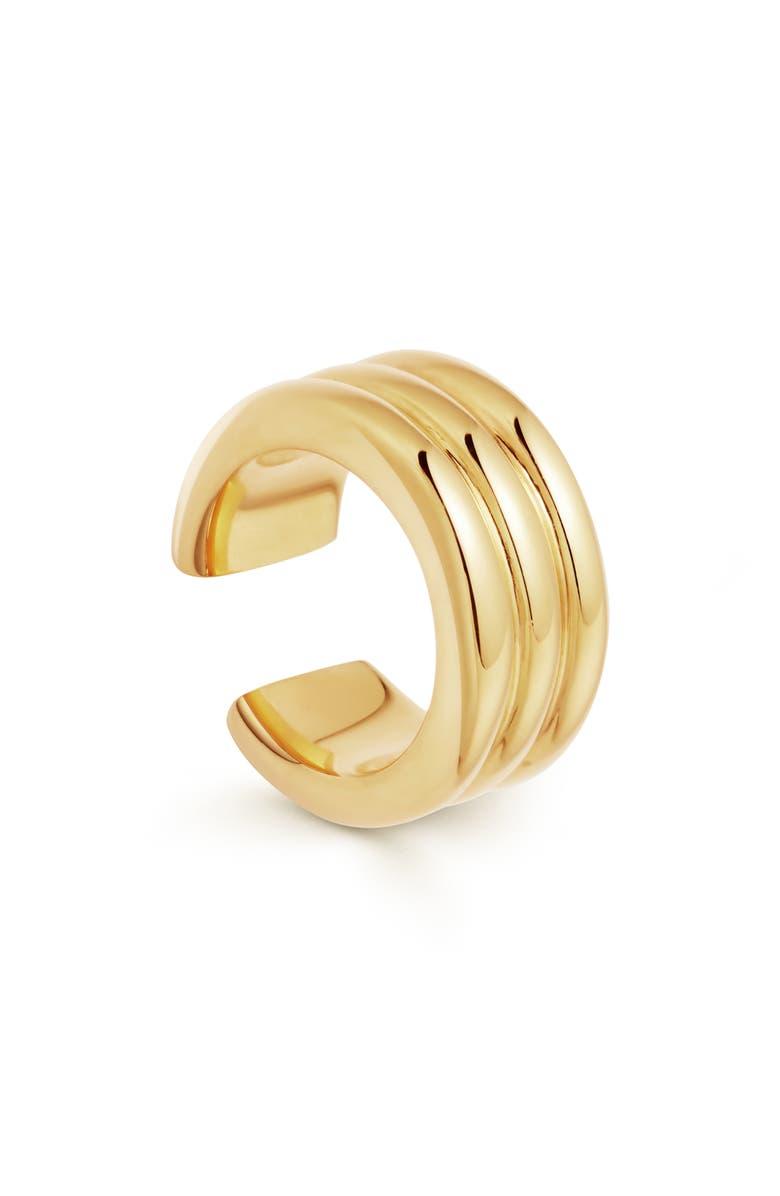 MISSOMA Ancien Ear Cuff, Main, color, GOLD