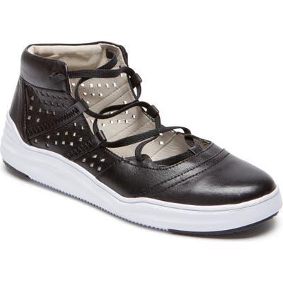 Rockport Cobb Hill Cady Gladiator Sneaker, Black