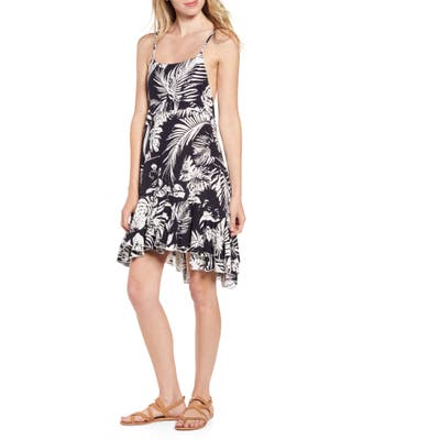 Lira Clothing Monterey Palm Print Minidress