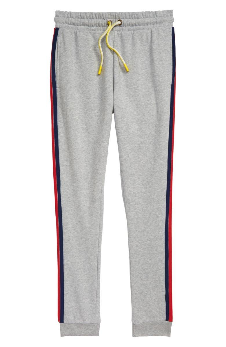 MINI BODEN Everyday Jogger Pants, Main, color, MID GREY MARL