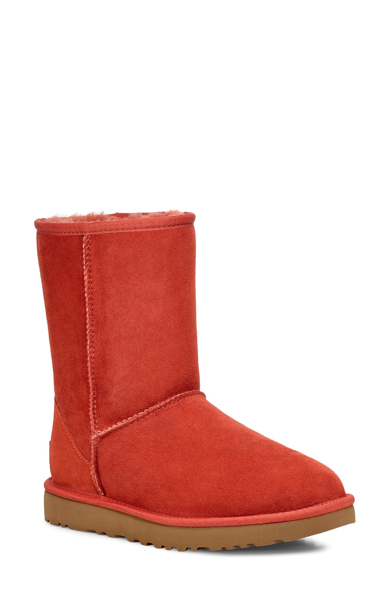UGG® Classic II Genuine Shearling Lined Short Boot (Women)