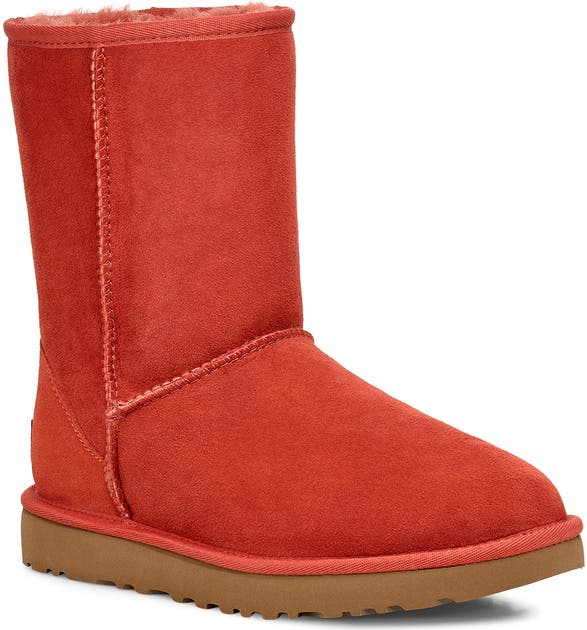 Ugg Boots Classic II Genuine Shearling Lined Short Boot