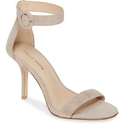 Pelle Moda Kallie Ankle Strap Sandal- Beige