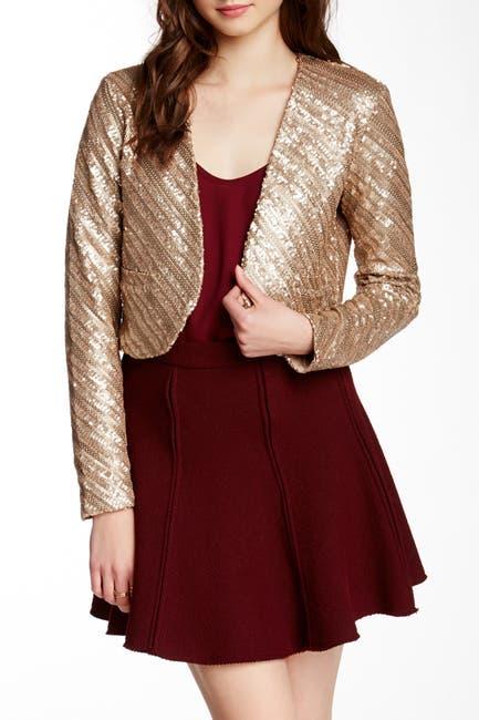 Image of Tart Safron Sequin Jacket