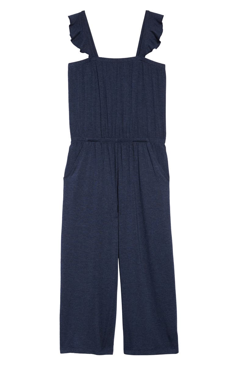 TUCKER + TATE Heathered Knit Jumpsuit, Main, color, 410