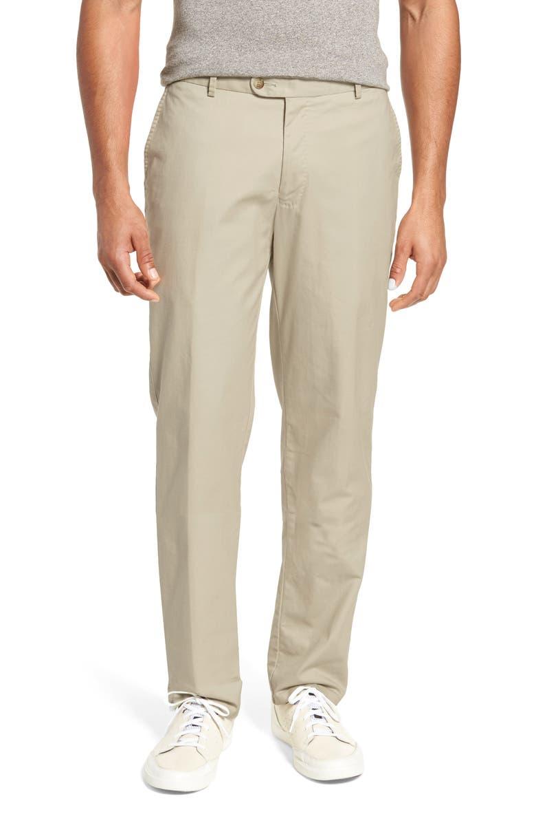 PETER MILLAR Twill Pants, Main, color, LIGHT SAND