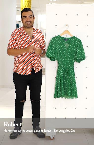Adelise Puff Sleeve Fit & Flare Minidress, sales video thumbnail