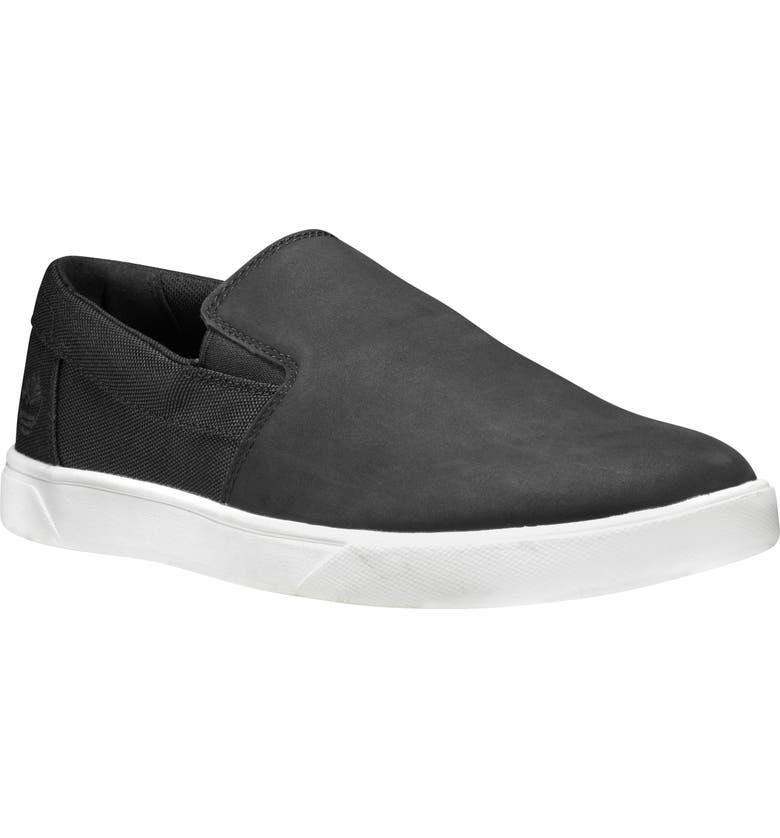 TIMBERLAND Groveton Slip-On Sneaker, Main, color, 001