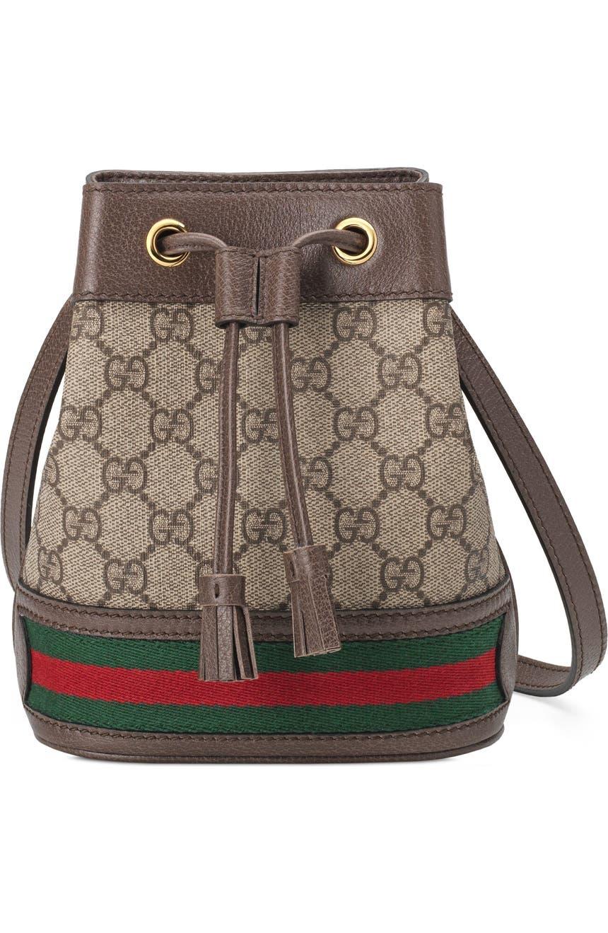 df8f7c43c46a Gucci Mini Ophidia GG Supreme Bucket Bag | Nordstrom