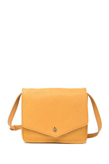 Image of Lucky Brand Rela Small Leather Crossbody Bag