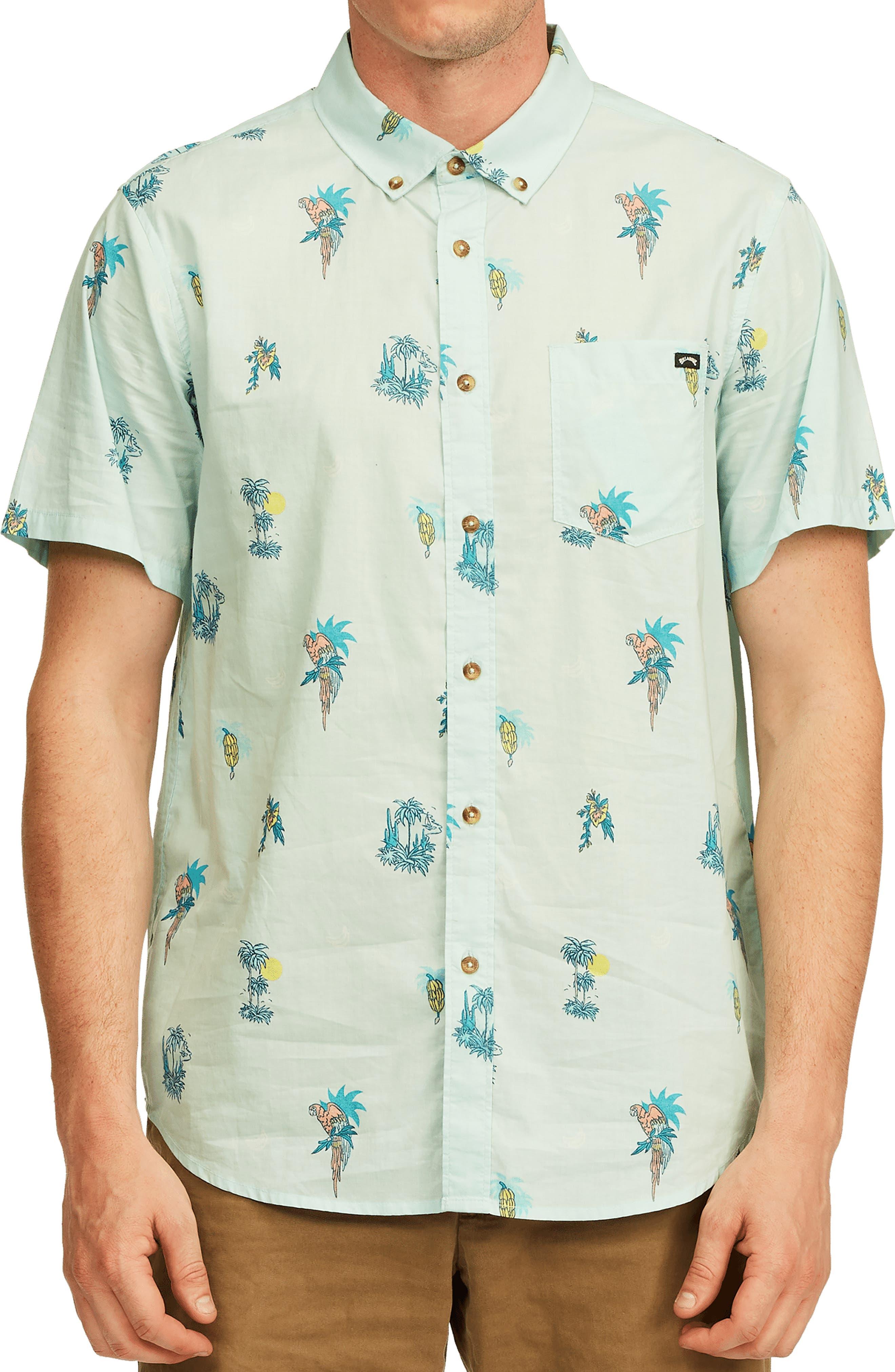 Sundays Mini Short Sleeve Button-Down Shirt