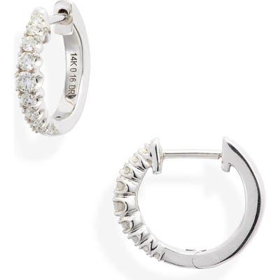 Dana Rebecca Designs Vivian Lily Diamond Huggie Hoop Earrings