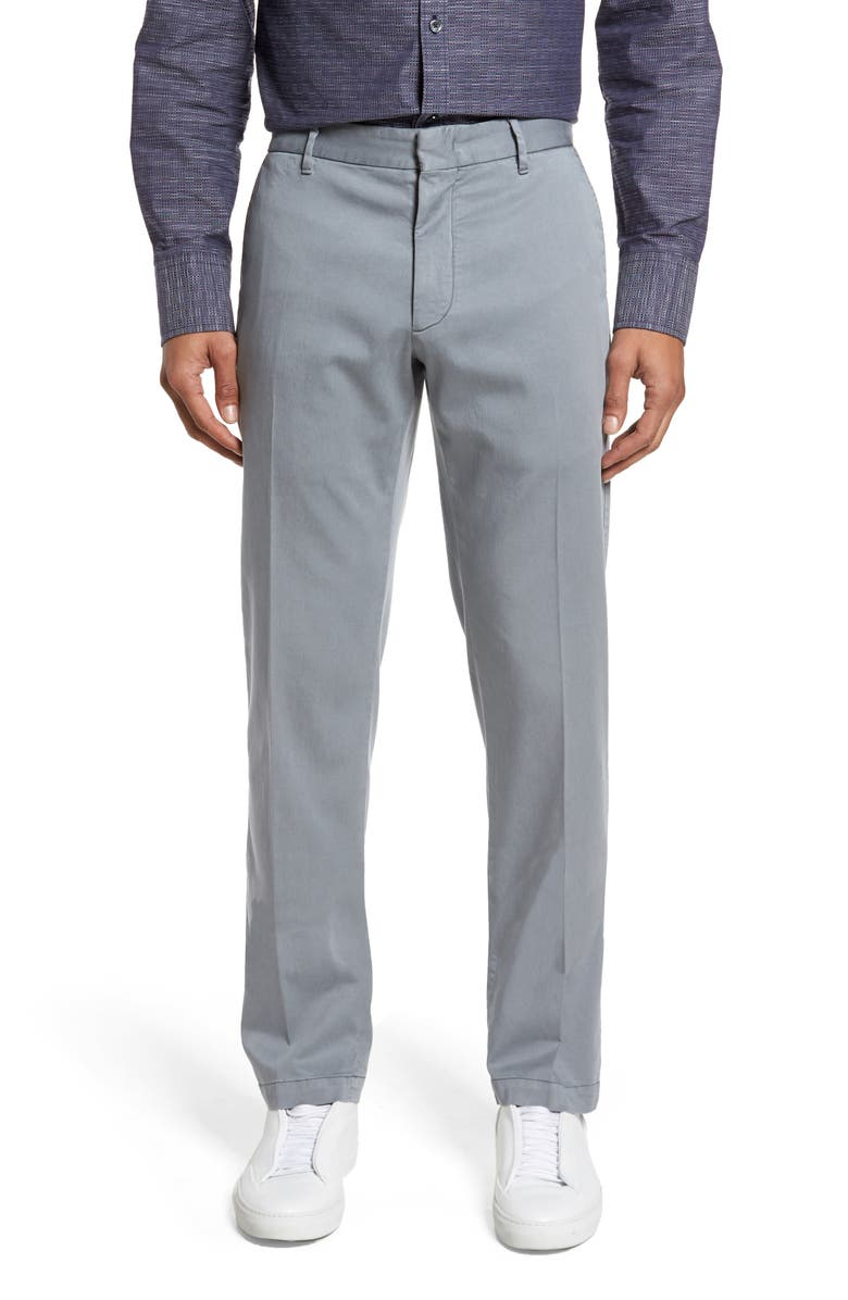 ZACHARY PRELL Aster Straight Leg Pants, Main, color, GREY