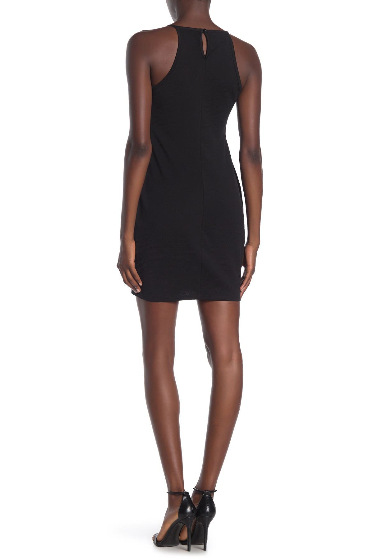 Image of MATERIAL GIRL Halter Neck Bodycon Dress