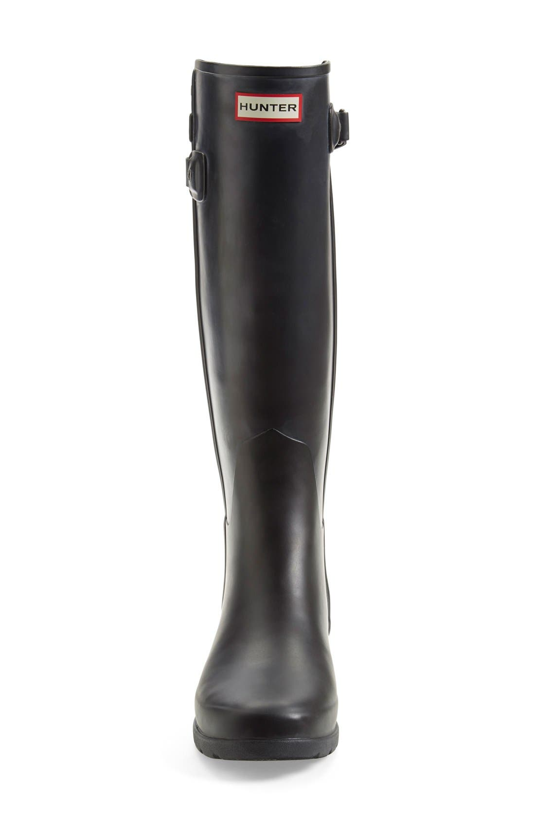 ,                             'Original Refined' Rain Boot,                             Alternate thumbnail 5, color,                             001