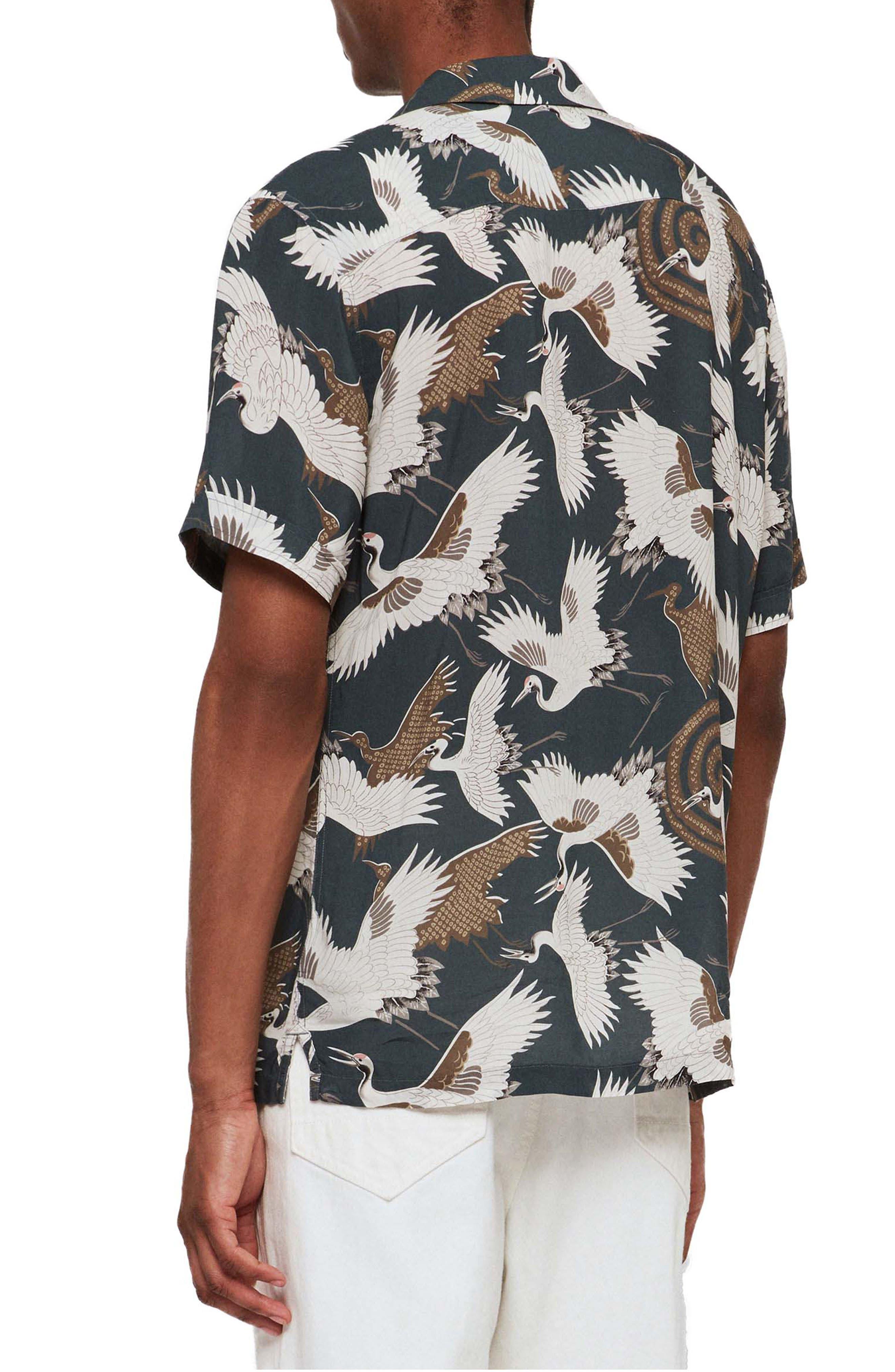 ,                             Tsuru Slim Fit Short Sleeve Sport Shirt,                             Alternate thumbnail 3, color,                             BLUE