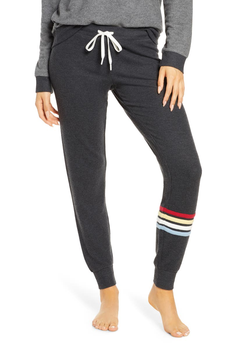 PJ SALVAGE Gone Napping Lounge Pants, Main, color, 020