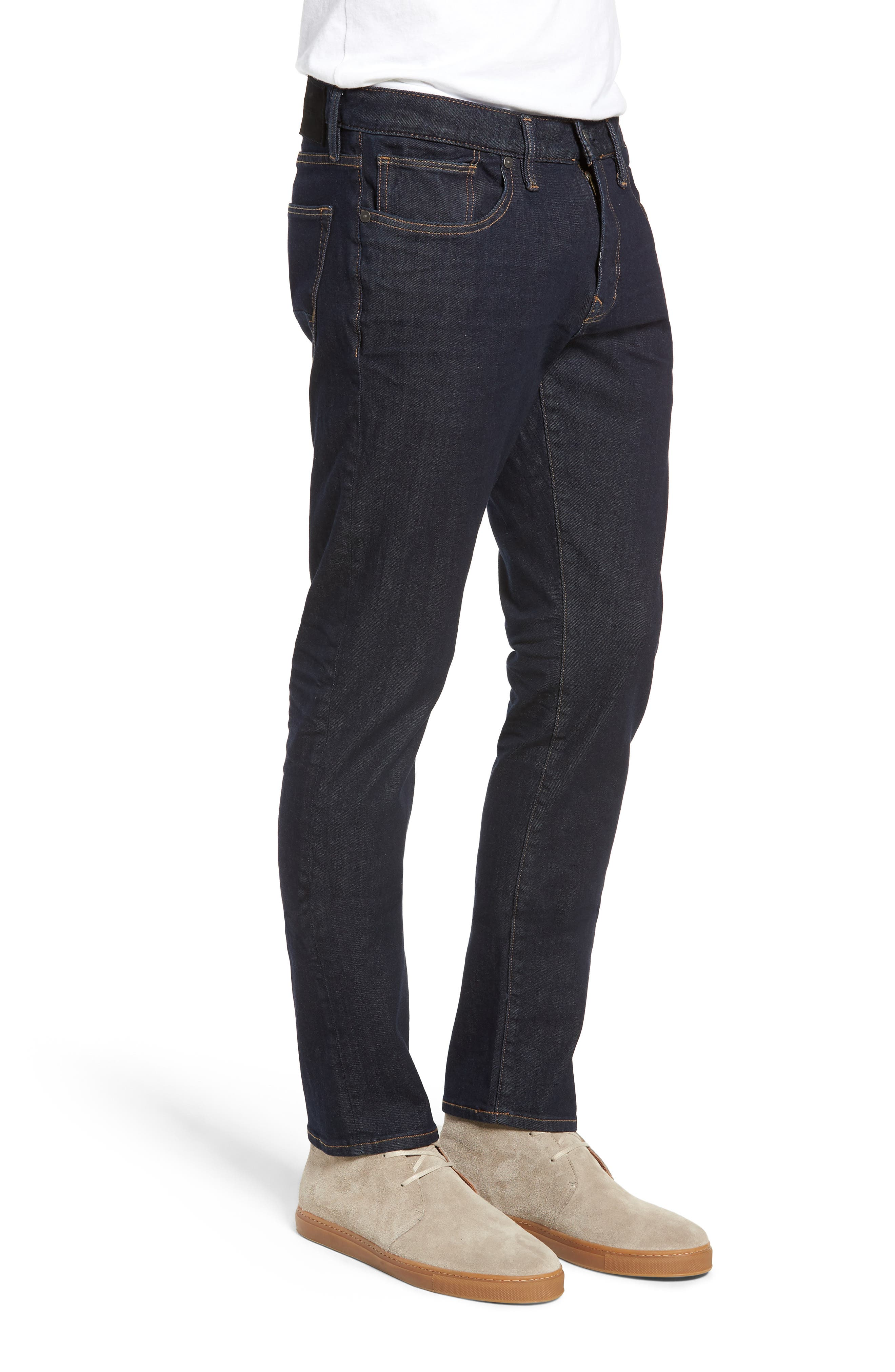 ,                             Ashdown Slim Straight Fit Jeans,                             Alternate thumbnail 4, color,                             INDIGO