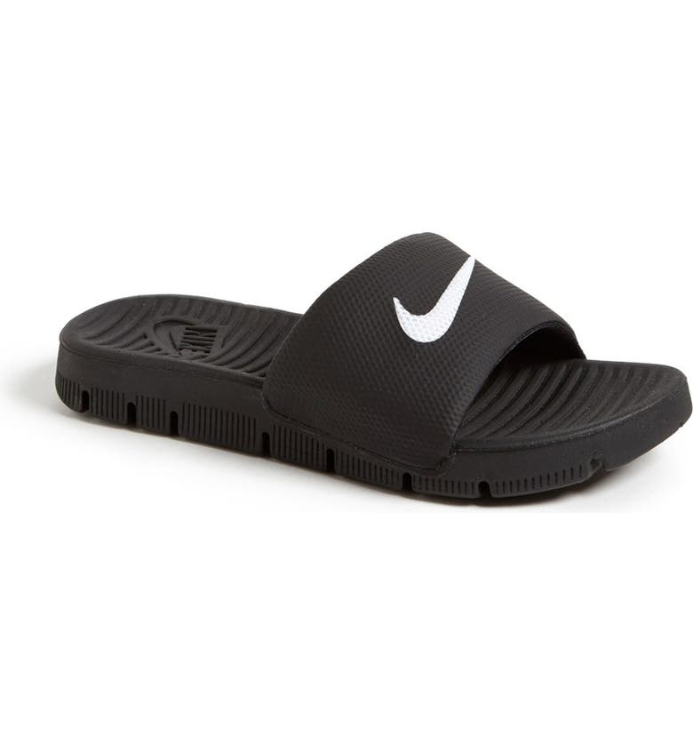 NIKE 'Flex Motion' Sandal, Main, color, 001