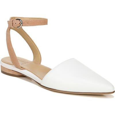 Naturalizer Hartley Ankle Strap Sandal- White