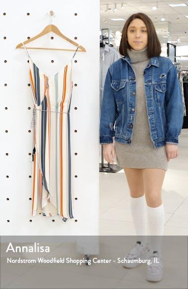 Desert Stripe Wrap Dress, sales video thumbnail