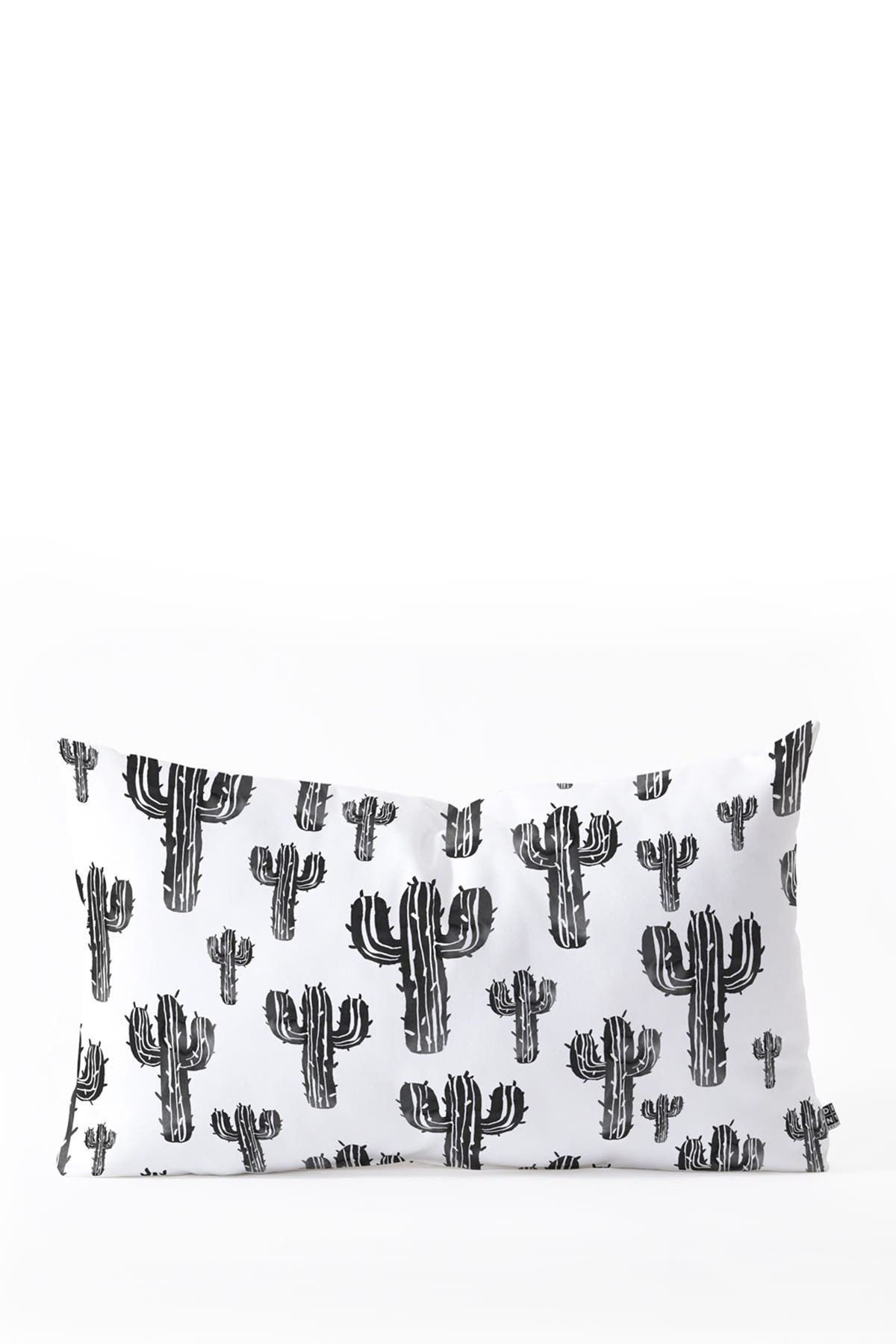Image of Deny Designs Susanne Kasielke Cactus Party Desert Oblong Throw Pillow