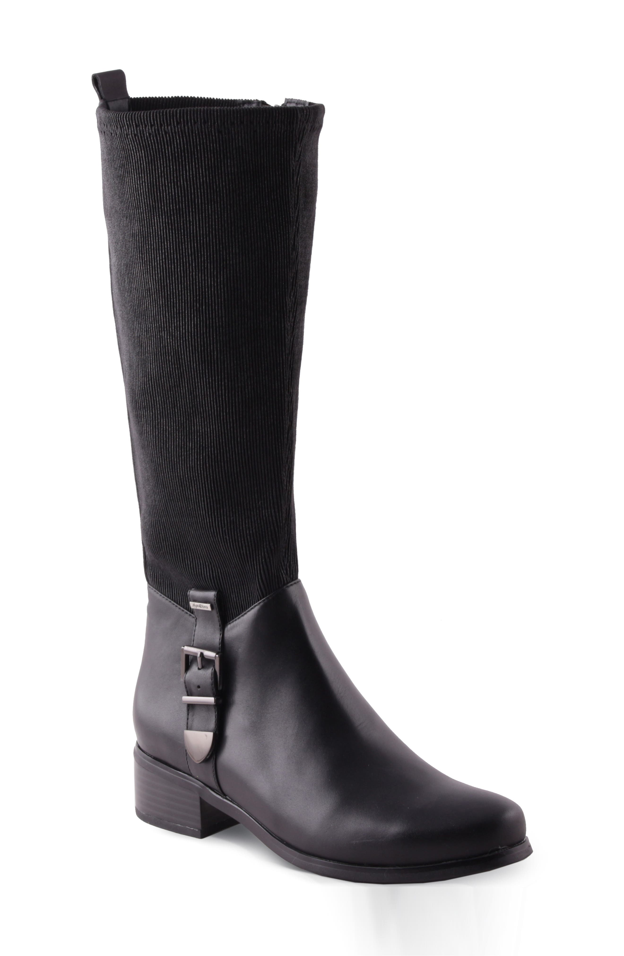 Kelly Water Resistant Knee High Boot