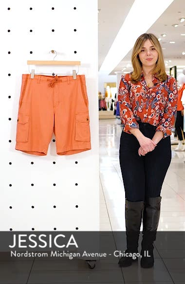Soleil Beach Cargo Shorts, sales video thumbnail