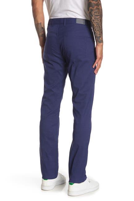 Image of Peter Millar Raleigh Glen Check 5 Pocket Pants