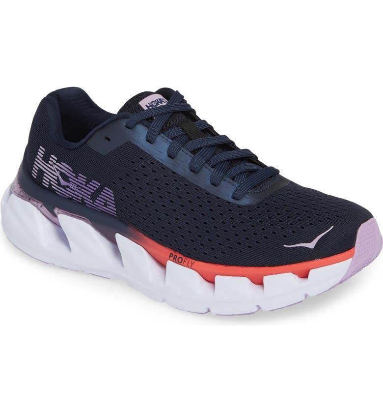 HOKA ONE ONE Elevon Running Shoe, Main, color, BLACK IRIS/ LAVENDULA