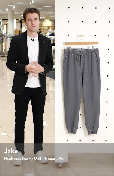 Lyle Slim Fit Stretch Twill Joggers, sales video thumbnail