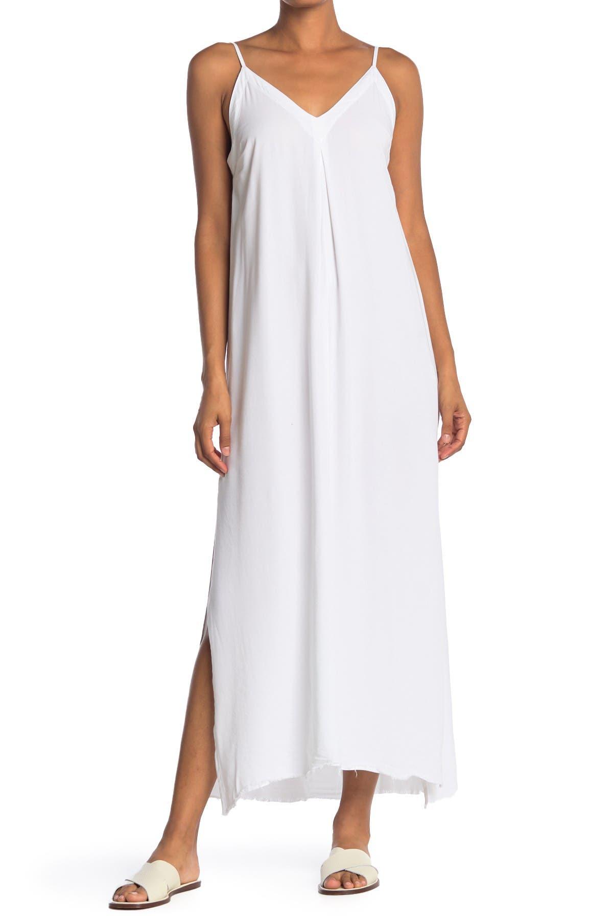 Image of NSF CLOTHING Antonia Side Slit Maxi Dress