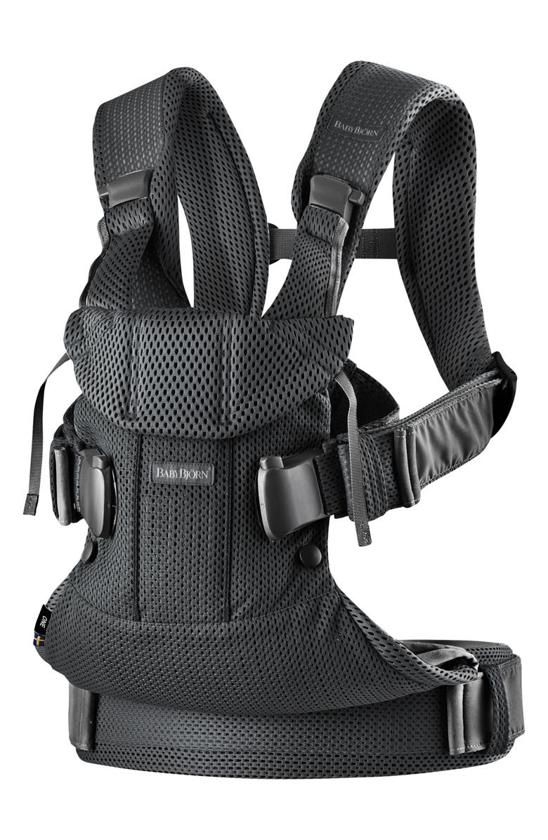 BABYBJÖRN Carrier One Mesh Baby Carrier, Main, color, 001