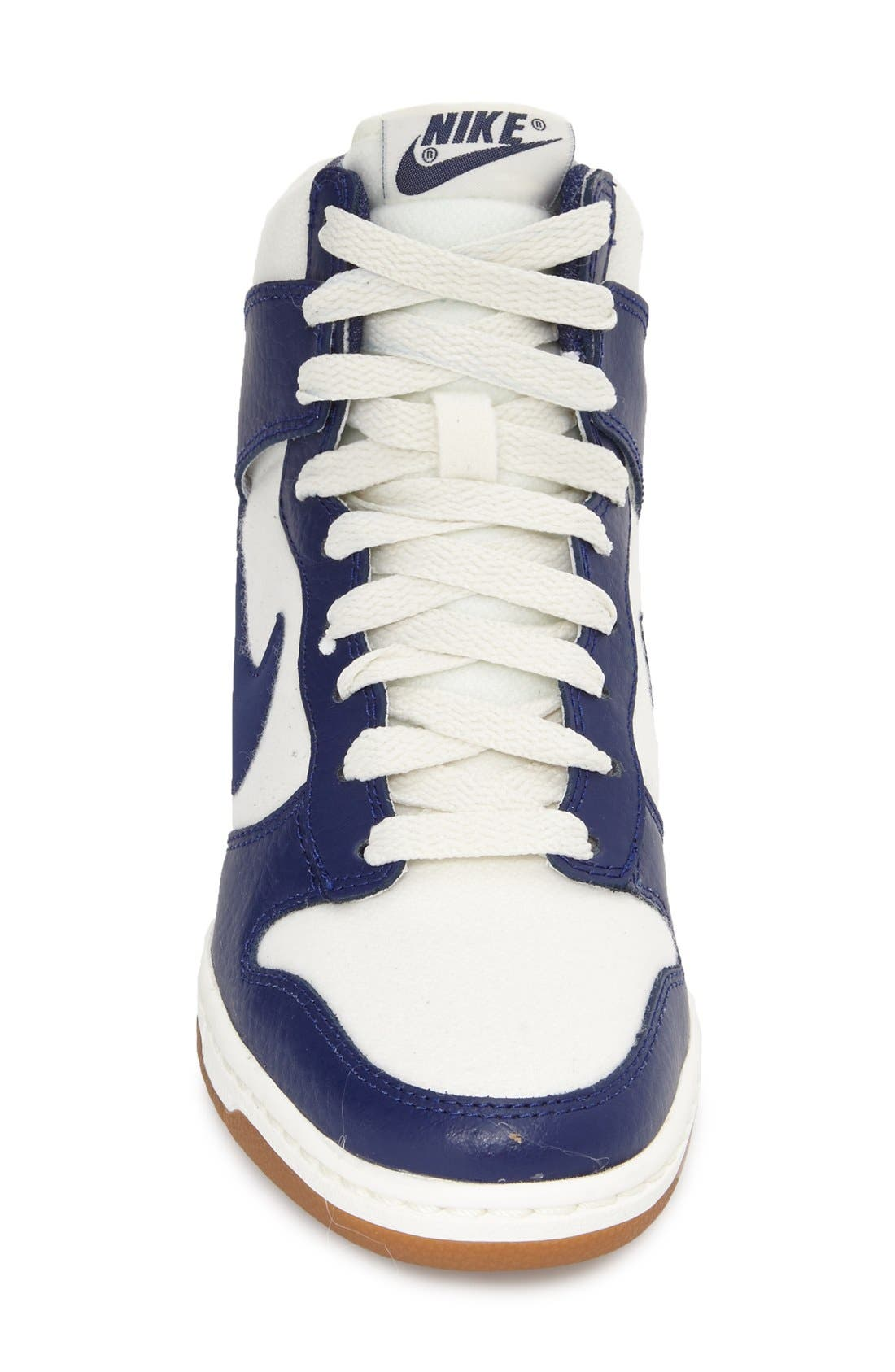 ,                             'Dunk Sky Hi - Essential' Wedge Sneaker,                             Alternate thumbnail 51, color,                             104