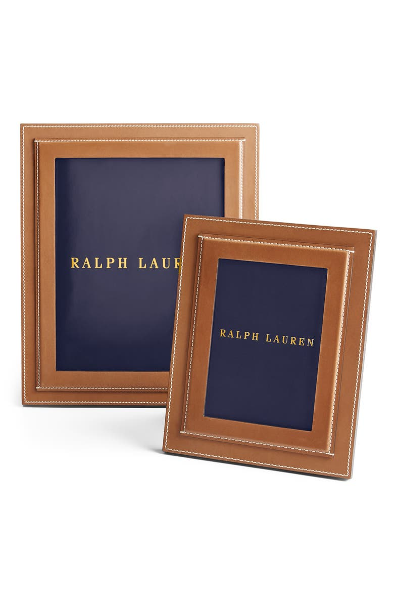 RALPH LAUREN Brennan Frame, Main, color, SADDLE