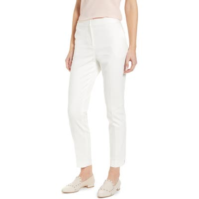 Vince Camuto Front Zip Leggings, Ivory