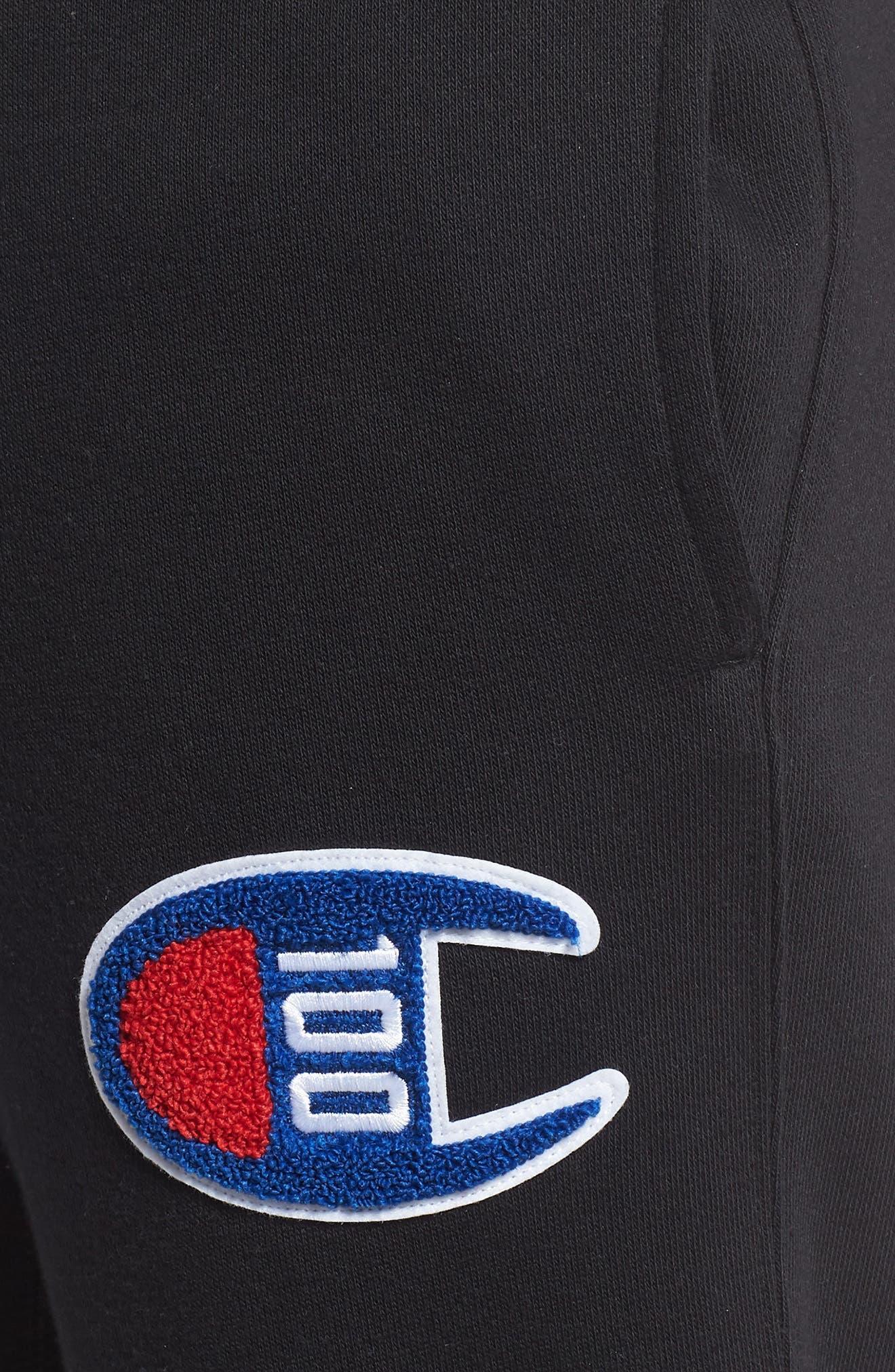 ,                             Century Collection Jogger Pants,                             Alternate thumbnail 5, color,                             BLACK