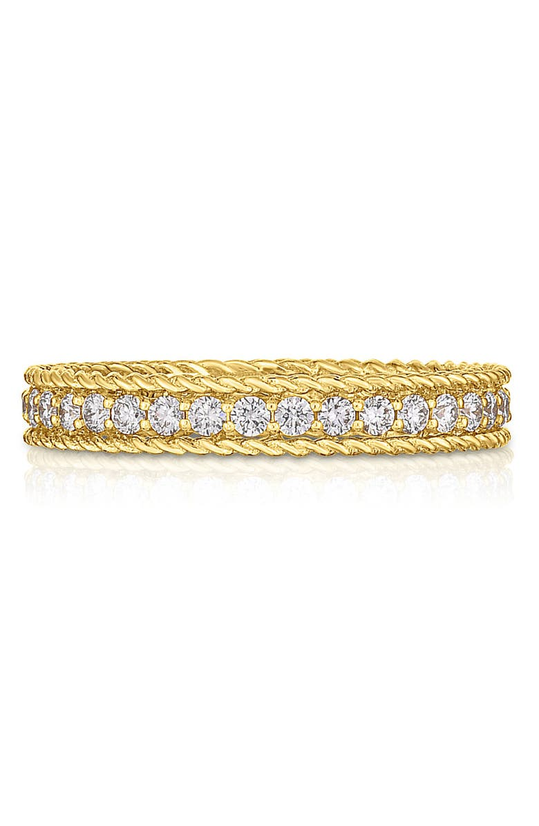 ROBERTO COIN Symphony Diamond Band Ring, Main, color, YELLOW GOLD