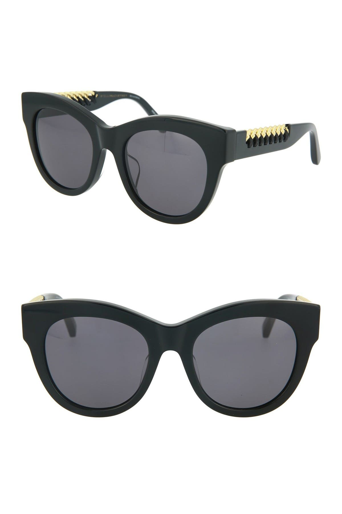Image of Stella McCartney 52mm Cat Eye Sunglasses
