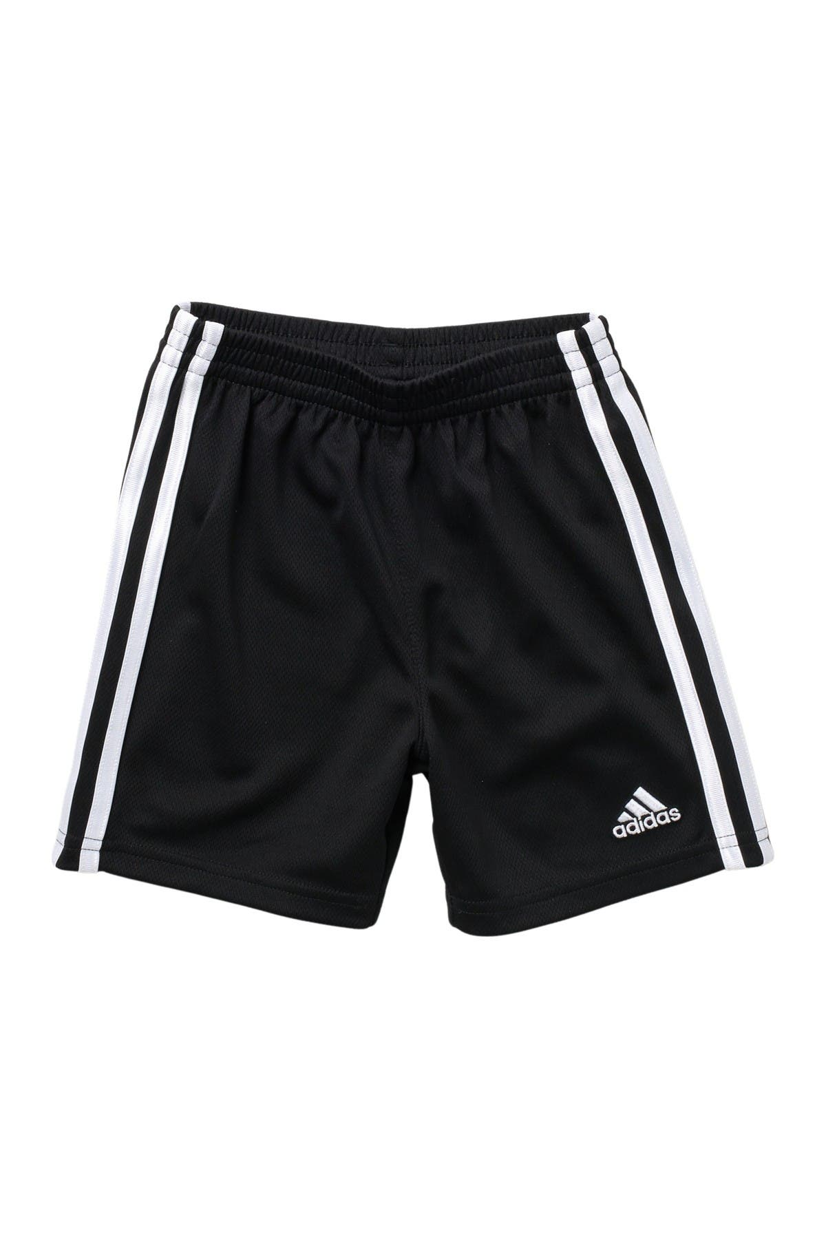 Image of adidas 3 Stripe Mesh Shorts