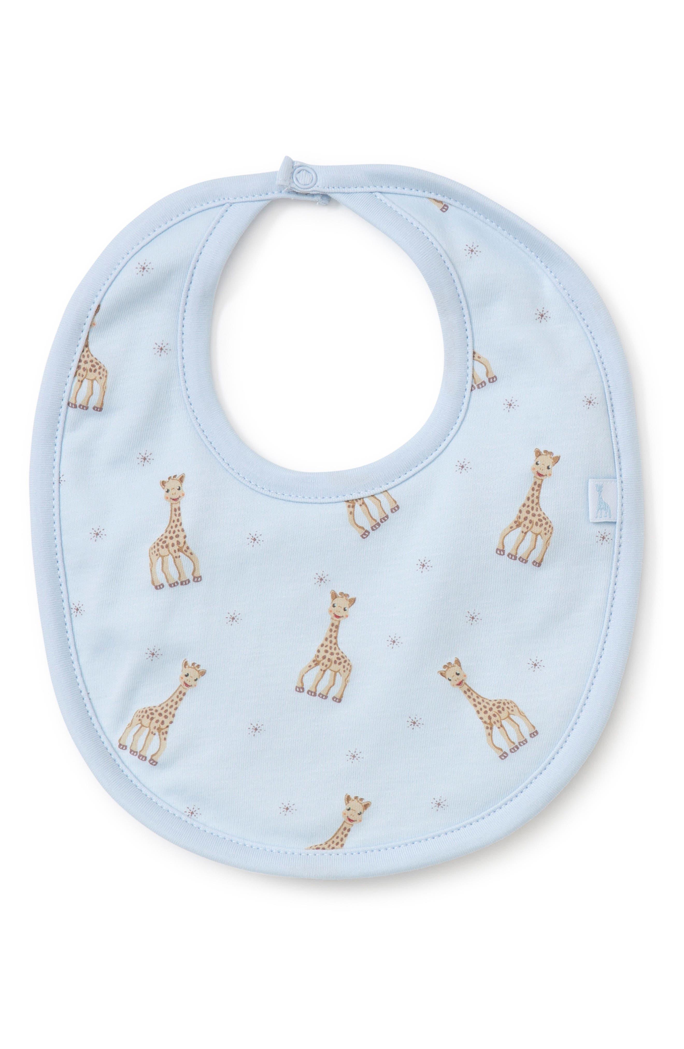 Infant Kissy Kissy X Sophie La Girafe Bib Size One Size  Blue