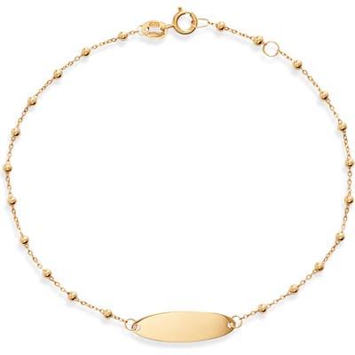 Bony Levy Beaded Id Bracelet (Nordstrom Exclusive)