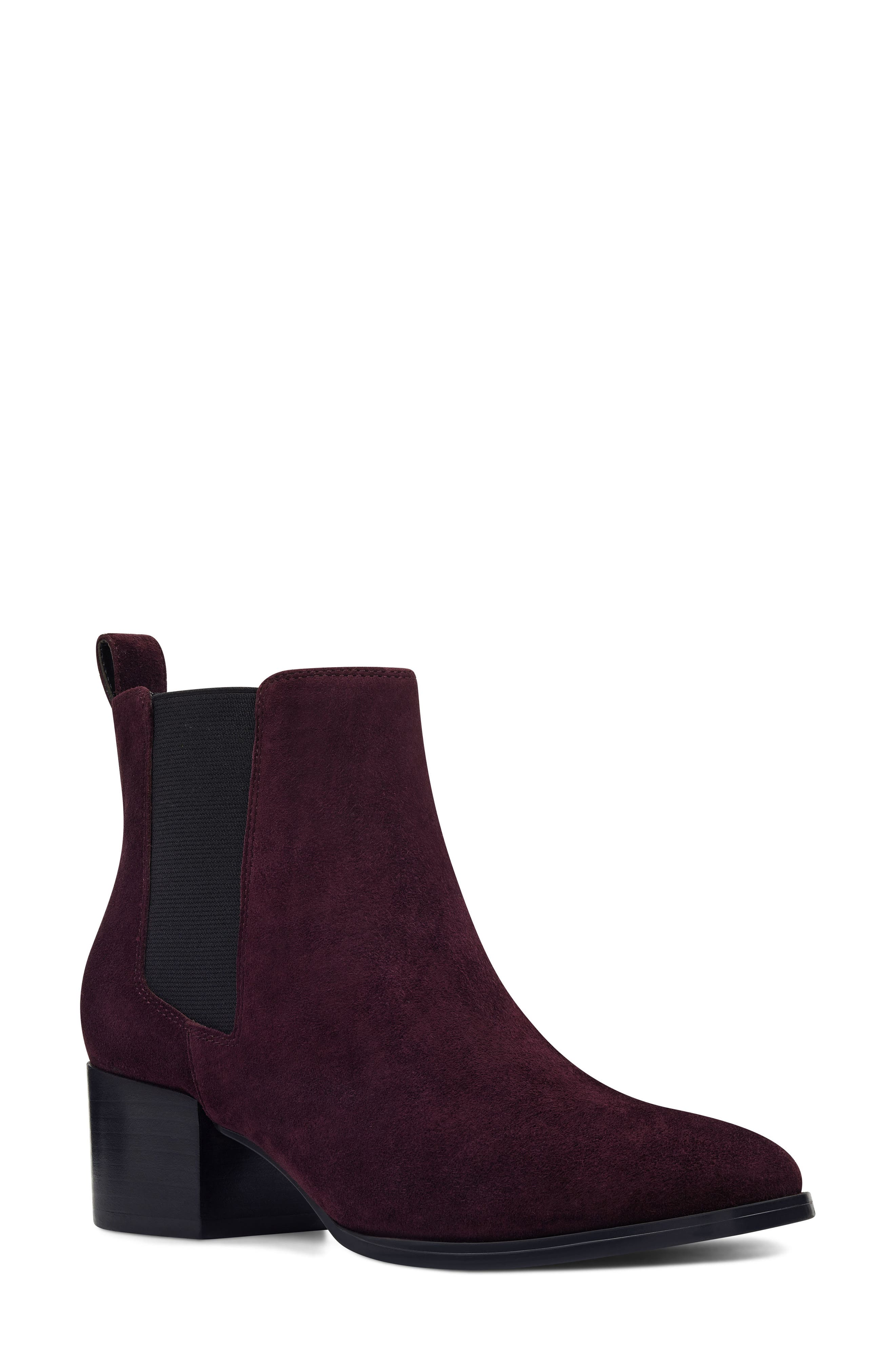 Nine West Colt Chelsea Boot, Red