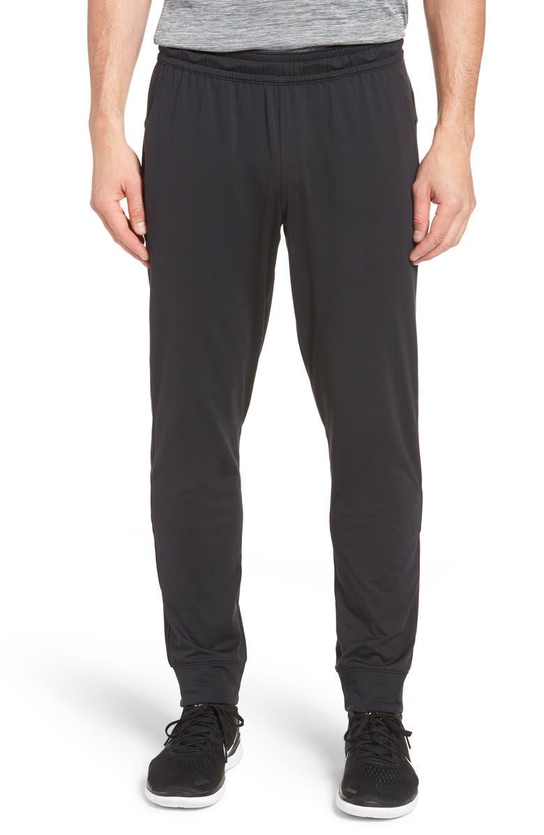 ZELLA Pyrite Slim Fit Technical Jogger Pants, Main, color, BLACK