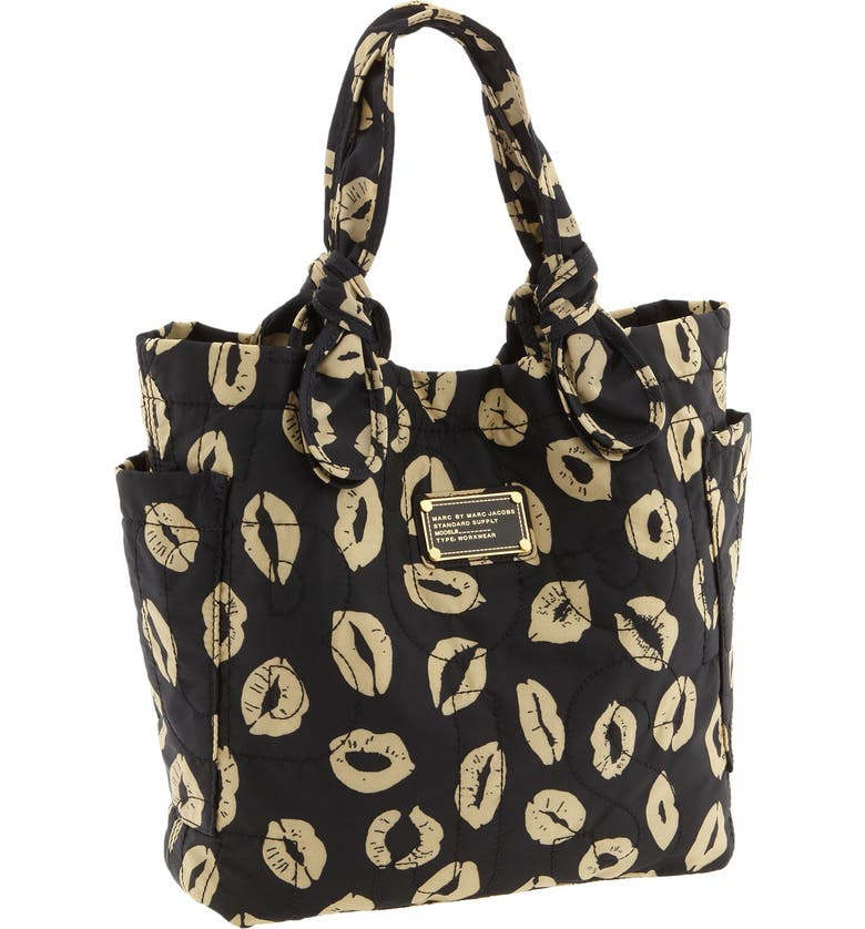 MARC JACOBS MARC BY MARC JACOBS 'Pretty Nylon - Little Tate' Tote, Main, color, BLACK MULTI MLLE