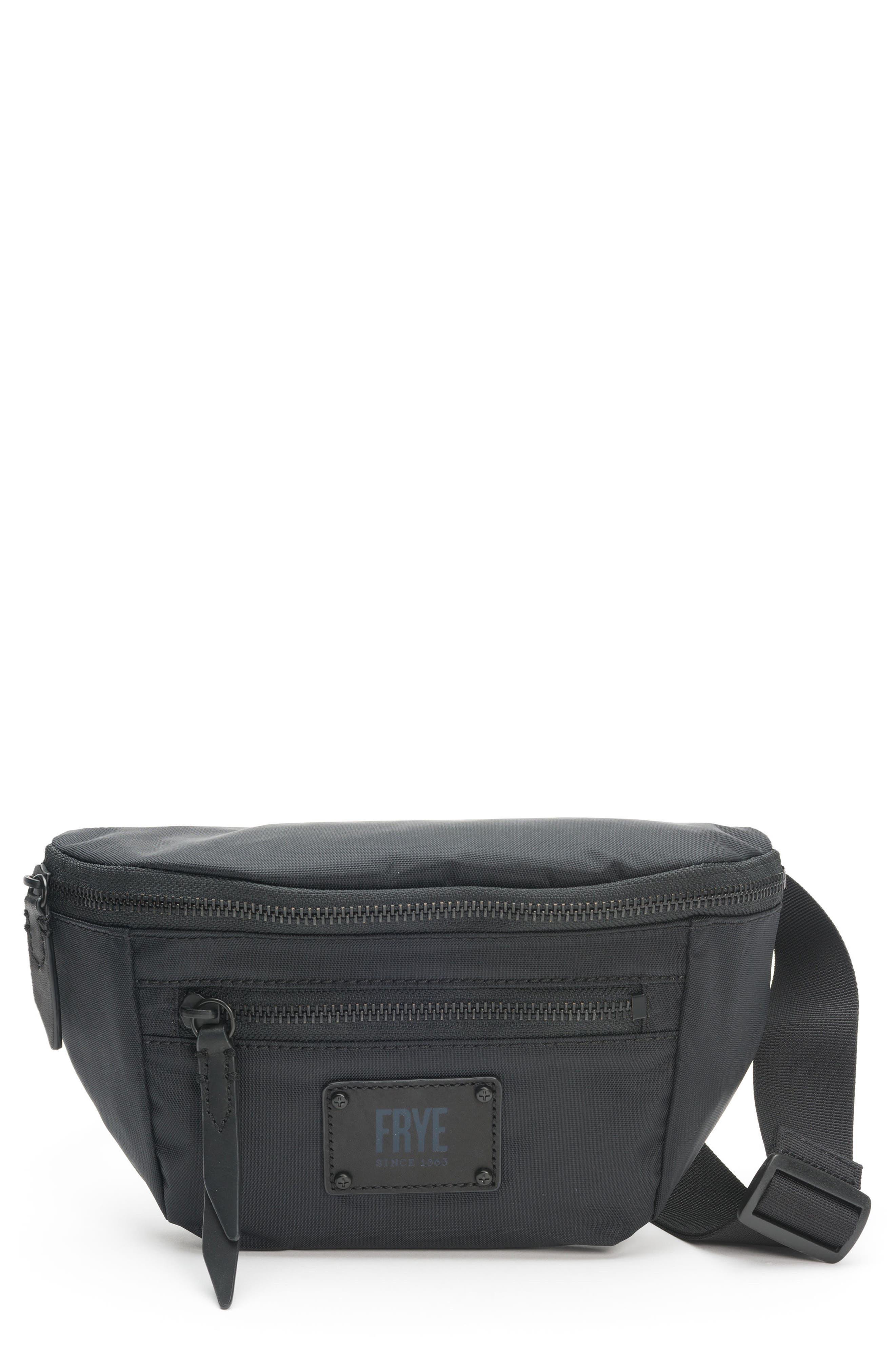 Ivy Nylon Belt Bag, Main, color, 001